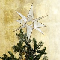 Capiz Tree Topper