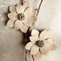 Winter Flower Tree Clip