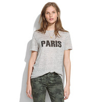 Linen Paris Tee - short sleeve - Women's TEES & MORE - Madewell