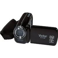 Vivitar DVR508N-BLK 5.1MP Digital Camcorder with 4X Digital Zoom Video Camera with 1.8-Inch LCD Screen (Black)