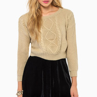 Sending Chills Sweater $35