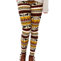 BOHEMIAN PRINT LEGGINGS