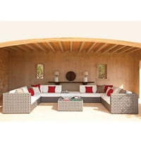 Buy Gloster Linea Modular Waterproof Outdoor Furniture online at John Lewis