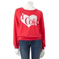 "Jerry Leigh ""I Heart Coke"" Sweatshirt - Juniors"