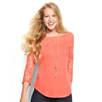 SO® Lace Top - Juniors