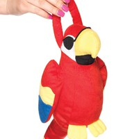 Red Polly Parrot Purse
