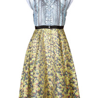 Mary Katrantzou - Silk Printed Drive Dress in Multi