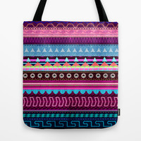Aztec #2 Tote Bag by Emiliano Morciano (Ateyo)