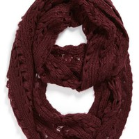 Capelli of New York Pointelle Infinity Scarf (Juniors) | Nordstrom