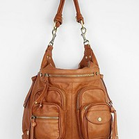 BDG Harriett Double-Pocket Convertible Leather Bag - Urban Outfitters
