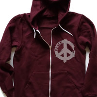 Unisex Flex Fleece Zip Hoodie with graphic print