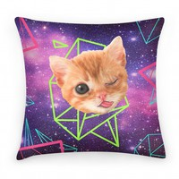 Miley Cat Head Pillow