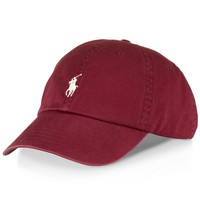 Polo Ralph Lauren Hat, Classic Chino Sports Cap