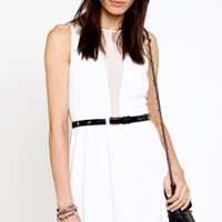 White Lulu Dress -$102
