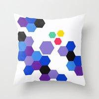 Colorful Throw Pillow - It's a Trap