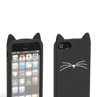 kate spade new york 'black cat' iPhone 5 & 5S case | Nordstrom