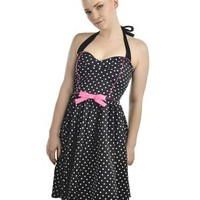 Nifty 50s Polka Dot Dress