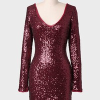 Jazz Night Sequined Dress