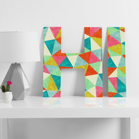 Jacqueline Maldonado Movement 1 Decorative Letters