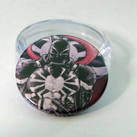 Comic Book 1.5 Button// Venom (Flash Thompson)