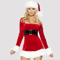 Sweet Santa Costume - Alley Rose Lingerie Club