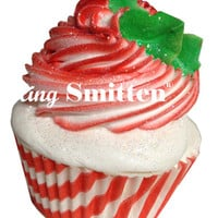 Cupcake Bath Bomb: Peppermint Swirl, Large - The Afternoon