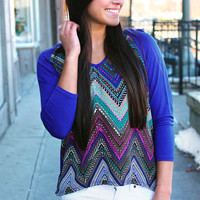 Indigo Nights Top