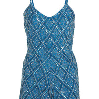 Petites Embellished Playsuit - Playsuits & Jumpsuits - Clothing - Miss Selfridge