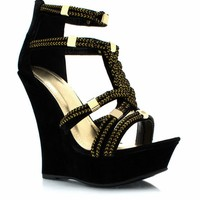 Dope-On-A-Rope-Faux-Suede-Wedges BLACK NUDE - GoJane.com