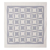 WEDDING RING QUILT & SHAM