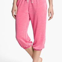 BP. Undercover 'Gym Class' Crop Sweatpants (Juniors) | Nordstrom