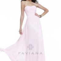 Faviana 7338 at Prom Dress Shop