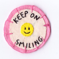 Keep on Smiling Patch
