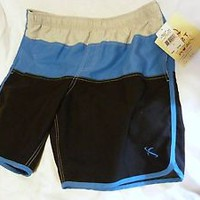 Men's Lost Black  Swimsuit Swim Trunks_Size L =Large_snorter shorts_NEW