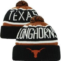 '47 Brand Men's Texas Longhorns Burnt Orange/Black Calgary Cuffed Knit Hat