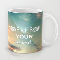 Free Your Mind Mug by Louise Machado
