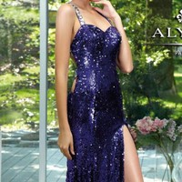 Open Back Dress by Alyce Prom