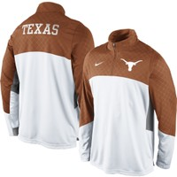 Nike Men's Texas Longhorns Burnt Orange Long Sleeve Shootaround Shirt