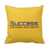 Success: It Smells Like Bacon Pillows