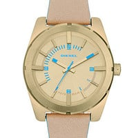 Diesel Watch, Women's Nude Leather Strap 44mm DZ5357