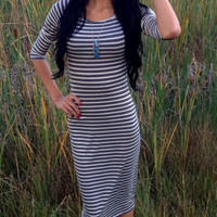Striped Dress | sevenandcoboutique