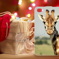 Giraffe Face - for iPhone 4/4s, iPhone 5/5s/5c, Samsung S3 i9300, Samsung S4 i9500 Hard Plastic Case
