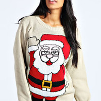 Freida Father Christmas Jumper