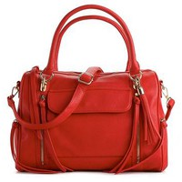 Urban Expressions Rhapsody Multi Pocket Satchel