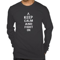 Zazzle Unisex Fight On LS Tee