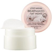 Sephora: Josie Maran : Bear Naked Nail Wipes : nail-polish-remover-nail-treatments