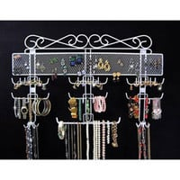 Over the Door Jewelry Valet