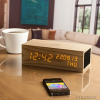 Gingko LED Music Click Clock | The Gadget Flow