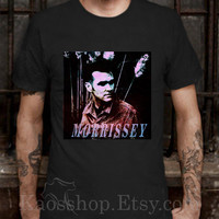 Morrissey Black Dsign t-shirt men S,M,L,XL