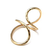 Gold Fill Infinity Forever Wrap Ring - wings hawaii - Maui Jewelry, Handmade Jewelry